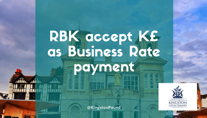 Kingtson Council to accept K£ as Business Rate payment