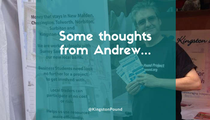 Some thoughts from Andrew