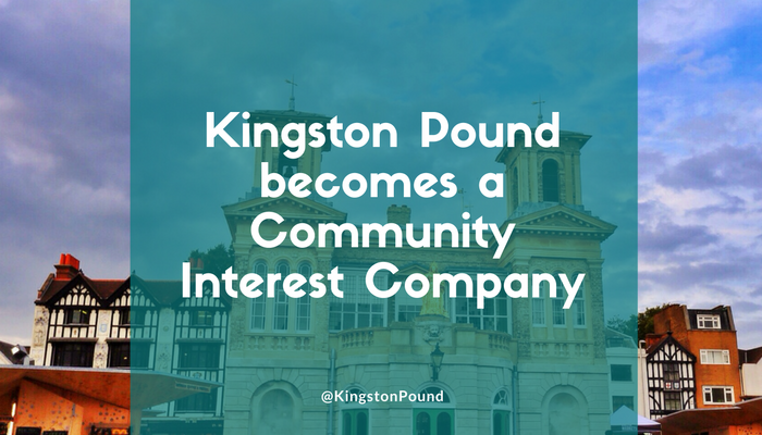 Kingston Pound becomes a CIC